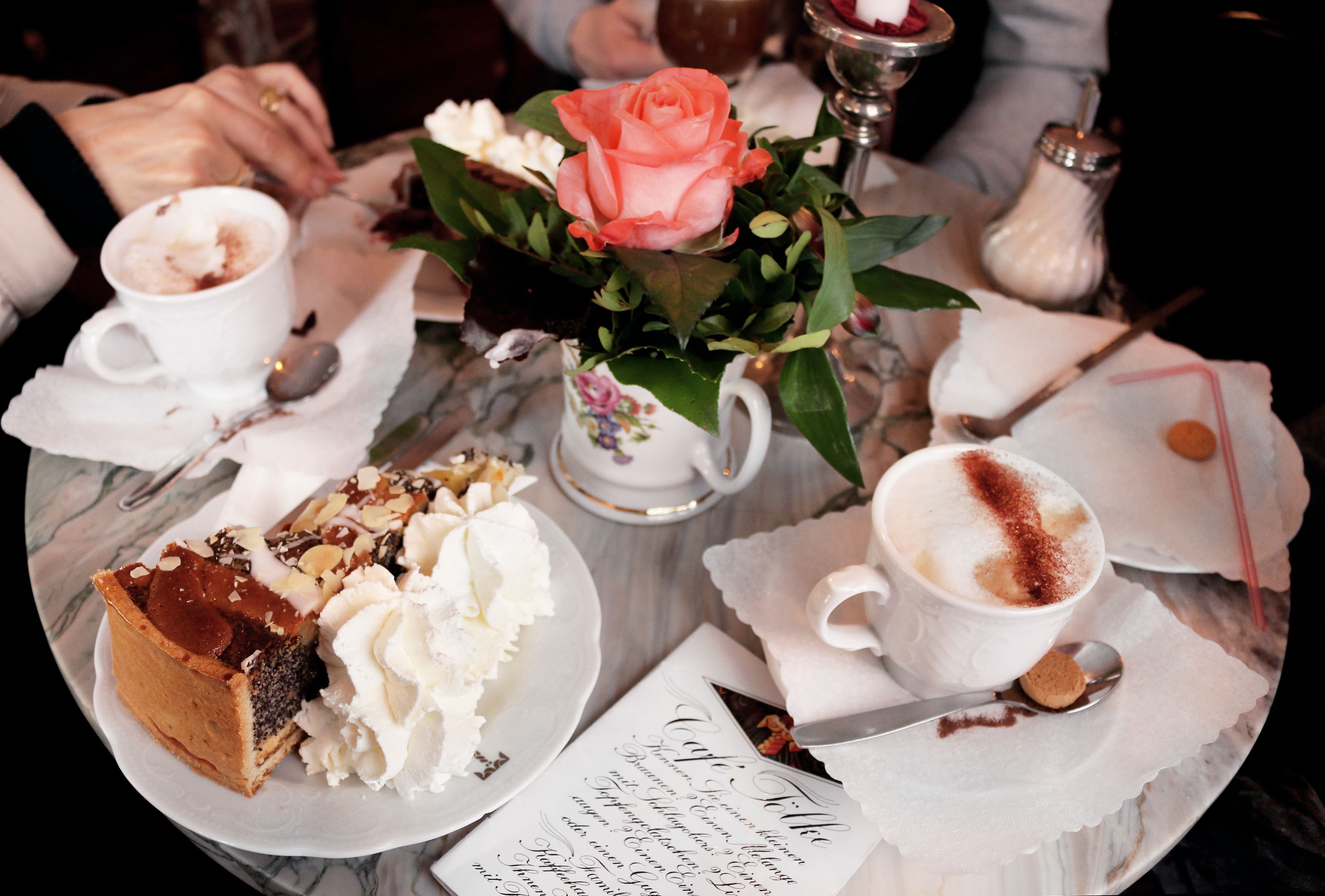 Best cakes in Bremen: Cafe Tölke
