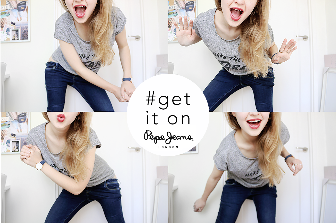 Get it on challenge by Pepe Jeans