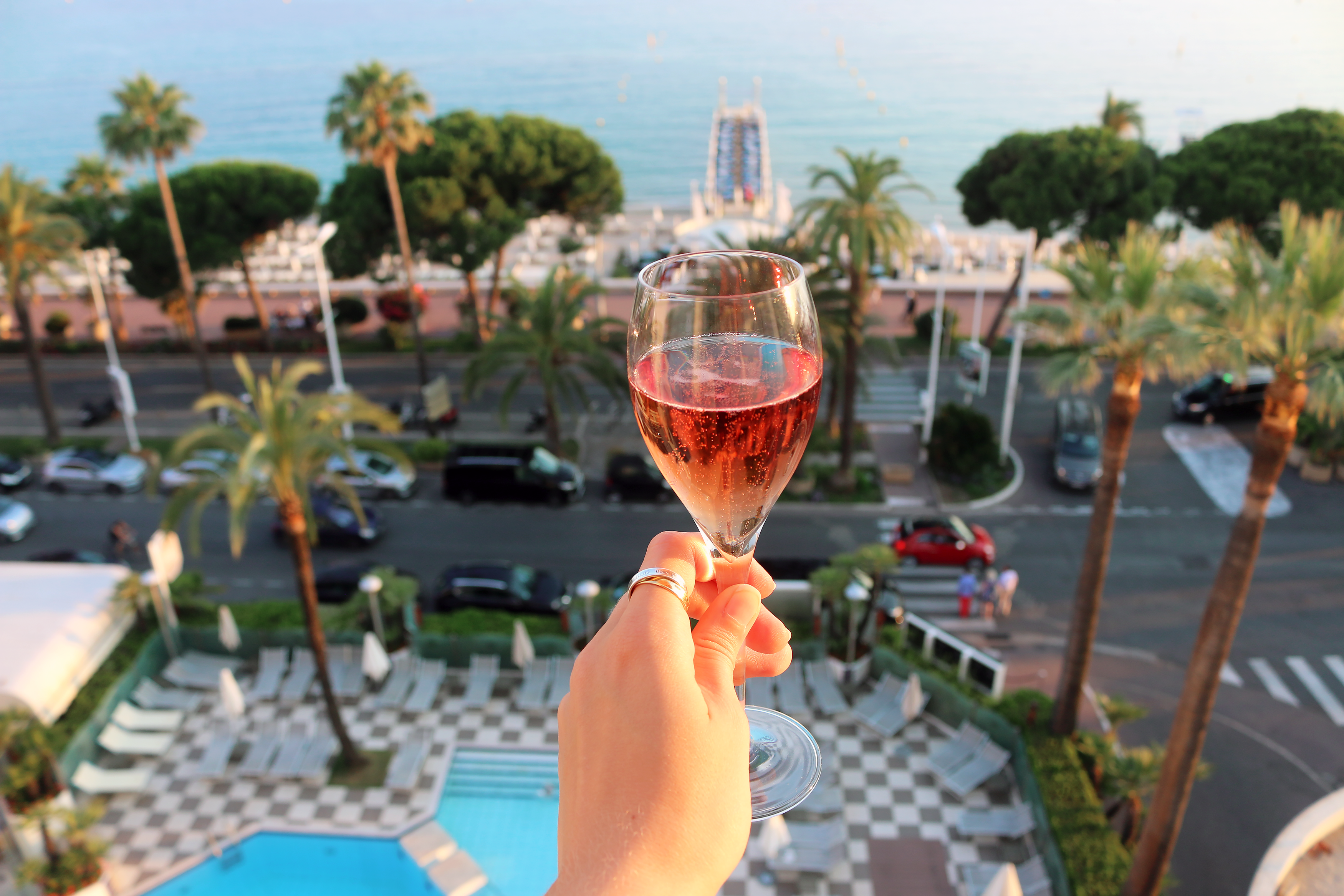Where to stay in Cannes: Martinez hotel